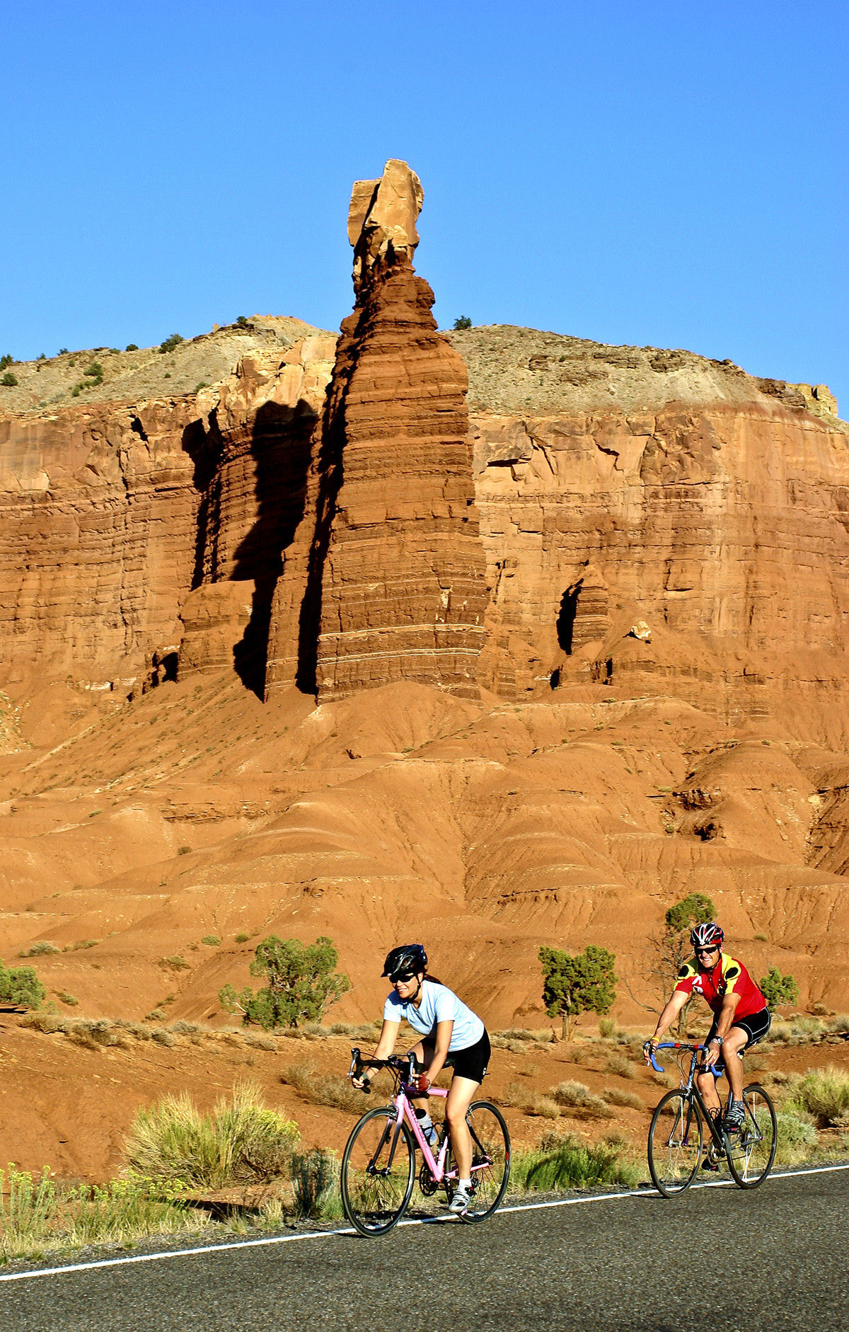Capitol Reef National Park road cycling