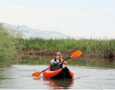 Paddling Cache Valley