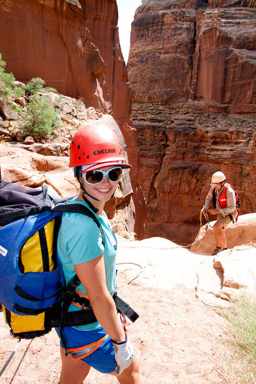 Moab Canyoneering