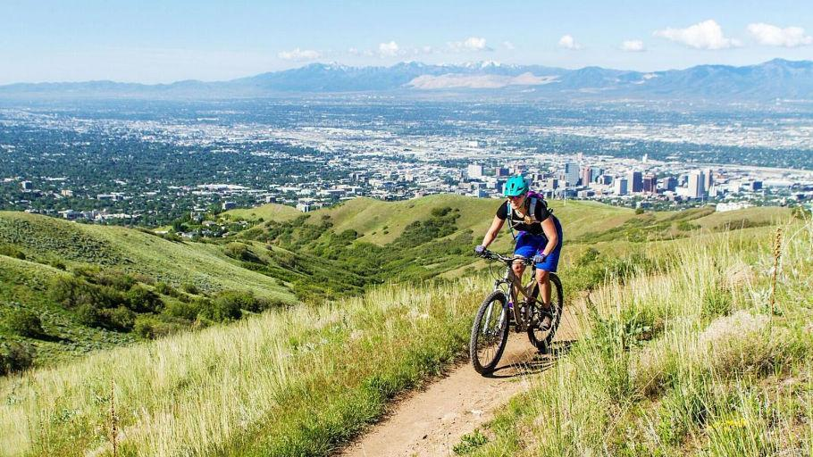 Bonneville Shoreline Trail - Salt Lake City