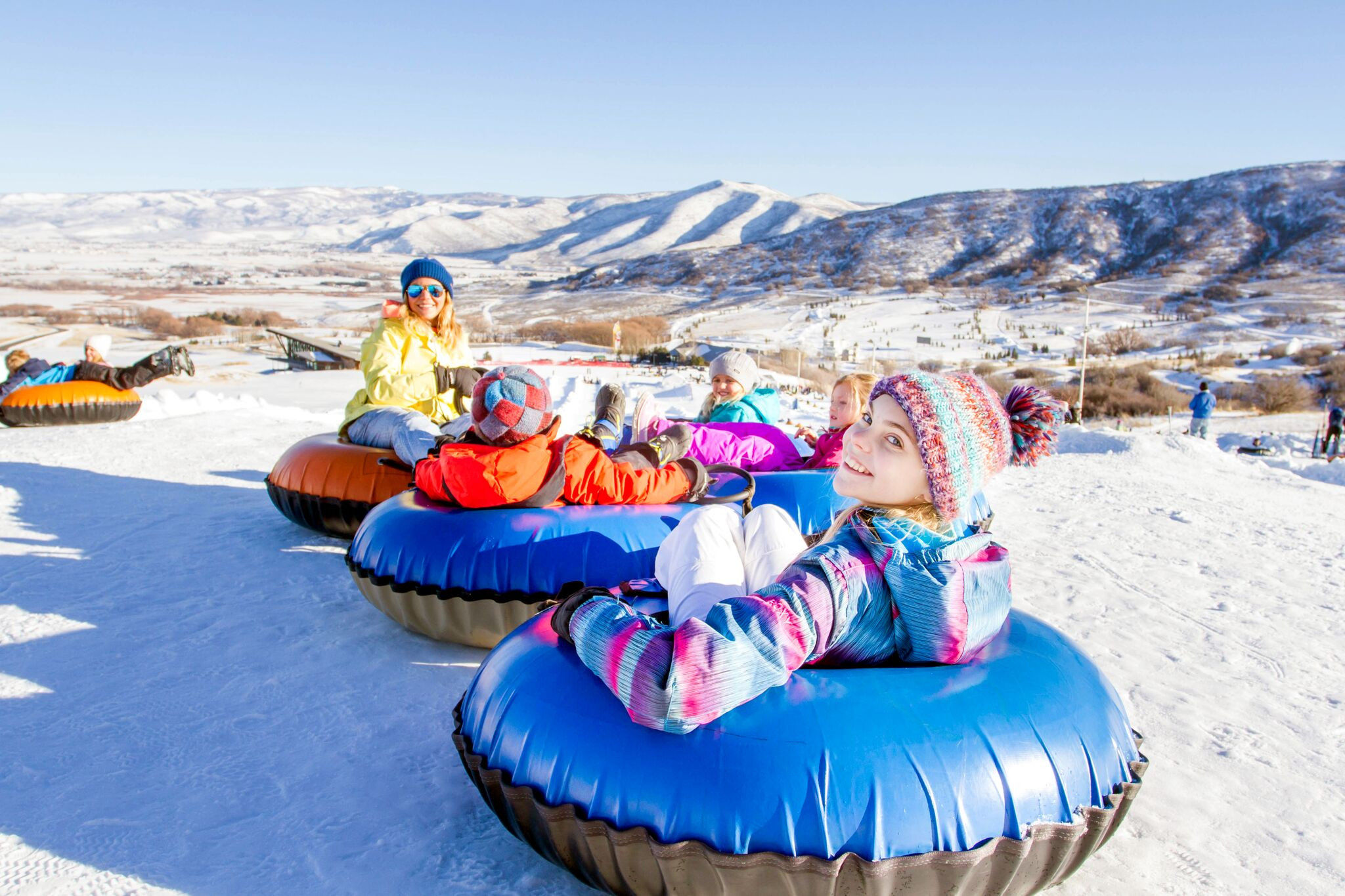 Tubing at Soldier Hollow