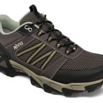 The Mount Tam Air Mesh features Ahnu's Numentum® Hike platform that provides stability and comfort hitting the trails or city walking. The breathable mesh upper allows feet to stay cool and dry in warmer weather. The Spider Rubber outsole provides traction in all environments. $110 ahnu.com