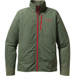 Patagonia's All Free Jacket is built from a light, stretchy and comfortable soft shell fabric with hoody-style handwarmer pockets that disappear under a harness. The soft-yet-durable polyester stretch-woven fabric has a DWR finish minimalist features. Flat-cinch, no-bunch hem adjusts. $129 patagonia.com