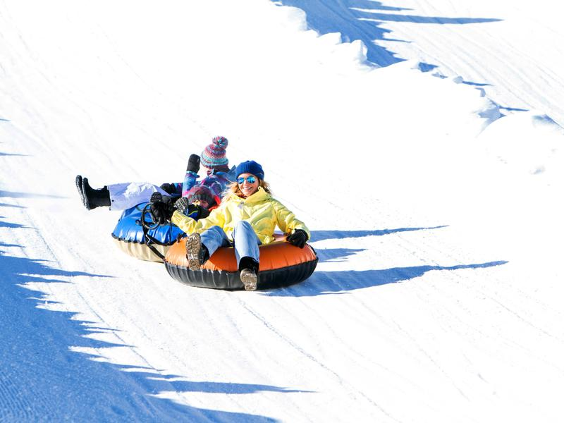 Tubing at Solider Hollow